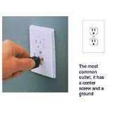 6-Pack Self-Closing Babyproof Outlet Covers - An