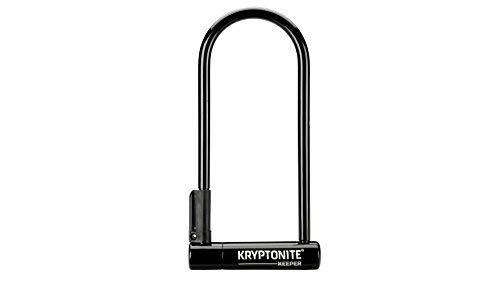 Kryptonite Keeper Long Shackle 12mm U-Lock Bicycle Lock with FlexFrame-U Bracket