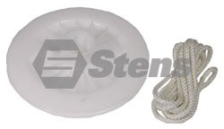 - Stens Starter Pulley with Rope, Briggs & Stratton 295871, ea, 1
