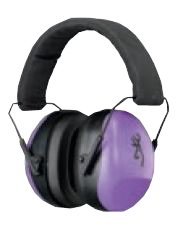 Browning Buckmark II For Her Hearing Protector, Purple