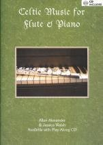 Celtic Music for Flute & Piano (Book & audio CD)