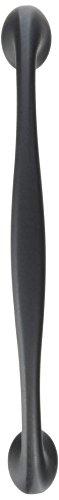 Amerock BP4479-FB Flat Black Modern Cabinet Hardware Pull - 3-3/4
