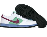 Women Nike Dunk Low (Nike Women's Dunk Low White 317813-161 8.5)