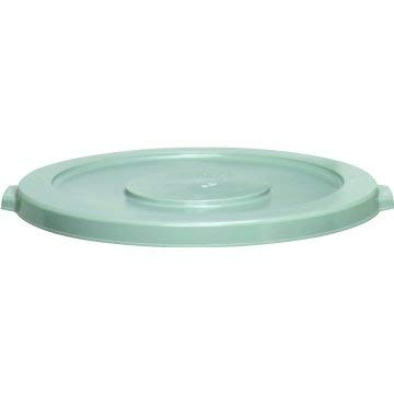 Fits Waste Receptacle - Maintenance Warehouse Round Waste Receptacle Lid, Fits 44 Gallon - Grey