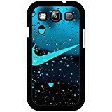 Water Droplets Background Nike Phone Case Cover for Samsung Galaxy S3 I9300 Just Do It Luxury (Galaxy S3 Phone Cases Samsung)