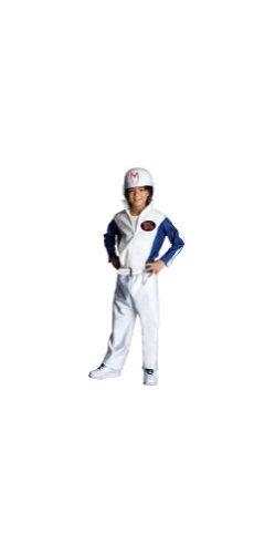[Deluxe Speed Racer Costume - Medium] (Childs Racing Driver Costume)
