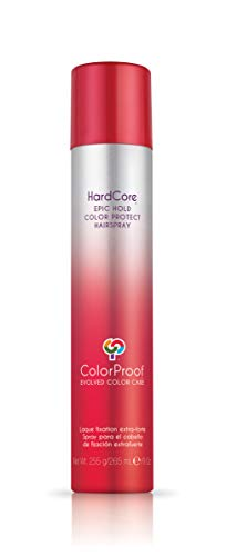- ColorProof Hardcore Epic Hold Color Protect Hairspray, 9 Oz