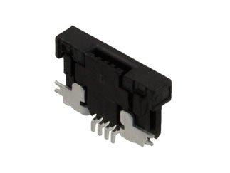 Sfv Series - AMPHENOL FCI SFV4R-1STE1HLF SFV Series 4 Position 0.5 mm Bottom Side Right Angle SMT FPC/FFC Connector - 25 item(s)