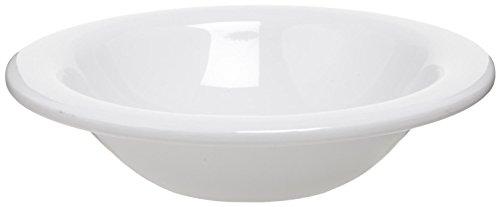 (Carlisle 3303602 Sierrus Melamine Rimmed Bowls, 13-oz., White (Set of 24))