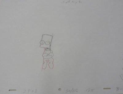 Bart Simpson Animation - Bart Simpson - Animation Art - Fox