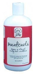 Curl Junkie BeautiCurls Argan & Olive Oil Daily Hair Conditioner - 12 oz (Best Type Of Olive Oil For Hair)