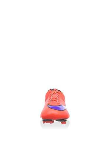 Nike Hommes Mercurial Veloce Ii Fg Taquet De Football Brillant Cramoisi Violet Noir 650