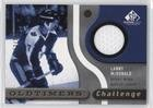 (Lanny McDonald #/100 (Hockey Card) 2005-06 SP Game Used Edition - Oldtimers' Challenge Jersey #OC-MC)