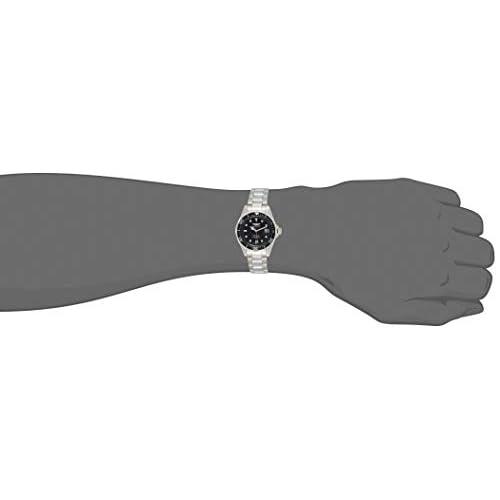 Invicta Men's Pro Diver 37.5mm Stainless Steel Quartz Watch, Silver (Model: 8932)