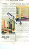 "Advertisement for American Radiator & Standard Sanitary Corporation (Beautiful Art Deco Interior) - ""Invest in Lifetime Living Comfort"""
