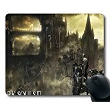 Price comparison product image Mouse pad castle in the fog in dark souls iii Computer Mousepad Size 9*7 Inches