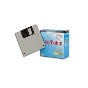Verbatim Diskettes 3.5 in. HD 2MB/1.44MB IBM Format 1/pk x100 - Sold As 100 Per Pack by Verbatim