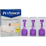 PETARMOR Petarmor Topical Flea & Tick Treatment For Dogs & Puppies, For Dogs 89-132 lbs. EA (Pack of 4)