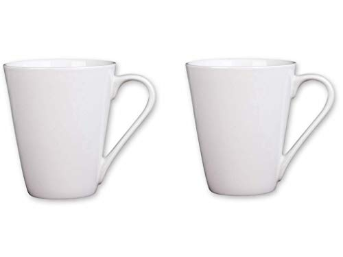 Coffee Mug Simple Pure White Large Ceramic Coffee Milk Cup Porcelain Mugs