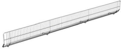 Lozier Store Fixtures WBF43 BCP 4 W ft. x 3 W in. Lozier Wire Bin Front - Pack Of 20 (Store Lozier Fixtures)