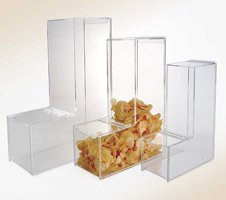 Gravity Feed Display - Gravity Feed Bulk Dispensers with Hinged Lids (Large - BFGF22)