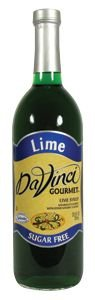 DaVinci Gourmet Sugar-Free Flavored Syrups Lime 750 mL [Misc.]