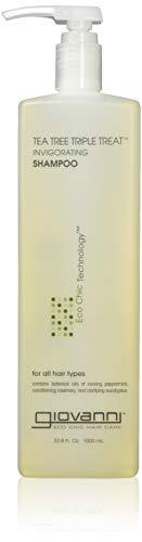 Giovanni Eco Chic Tea Tree Triple Treat - Invigorating Shampoo (33.8 Ounce)