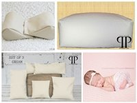 STARTER SET #14 ~ Posey Pillow Rectangulum, Squishy poser and Set of 5 Posey positioners ~ NEWBORN PHOTO PROP by Posey Pillow