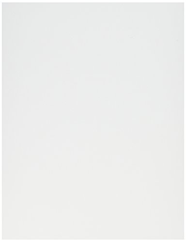 Crafter's Companion Spectrum Noir Ultra Smooth Premium Cardstock, 8.5 by 11-Inch, White, 50-Pack - 11