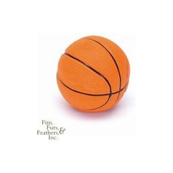 "Coastal Latex Basketball Dog Toy 2.5"" Latex Basketball"
