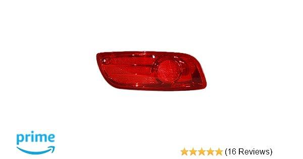 TYC 18-6042-00 Hyundai Santa Fe Driver Side Replacement Rear Reflector