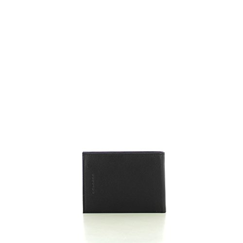 Piquadro Blu Nero Nero Piquadro Portafoglio Scuro Scuro Blu Portafoglio pfqwp4B