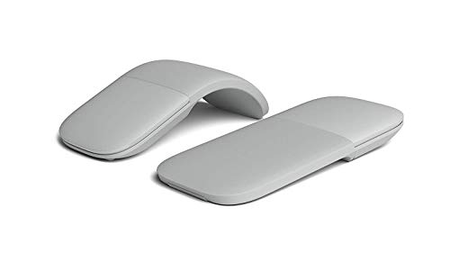 Arc Optical Touch Wireless Mouse Folding Mouse 2.4GHz Ultra-Thin Bluetooth 4.0 Suitable for PC Laptop MacBook