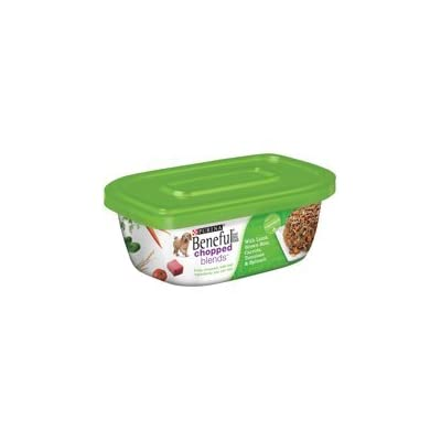 6 Tubs of Purina Beneful Chopped Blends with Lamb, Brown Rice, Carrots, Tomatoes & Spinach Wet Dog Food, 10 Oz ea