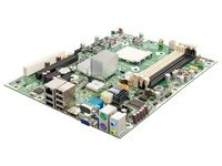 HP 531966-001 System board - With thermal grease, alcohol pad, and CPU socket cover - For Small Form Factor and Microtower PCs