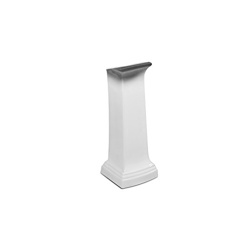 - St. Thomas Creations 5401.331.01 Presley Pedestal Only, White