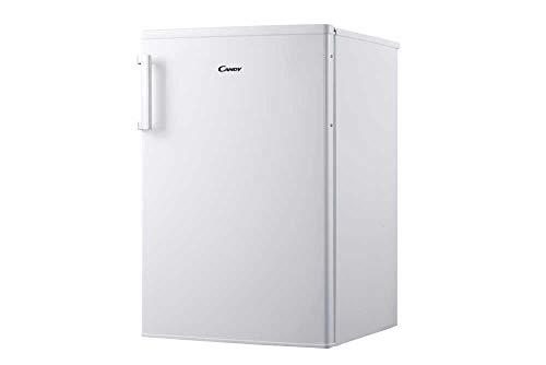 Candy CCTUS 542 WH – Congelador Vertical, Capacidad 82 L, 4 Cajones, silencioso 43 dBA, Tirador inox, Puerta reversible…