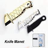 Home Decor Gift 2Pcs Ninja knife Refrigerator dagger magnet Fridge Magnet Message posted -Pier 27