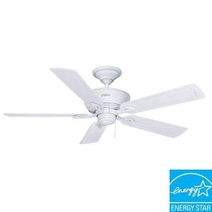 Amazon hunter caicos 52 in cottage white wet rated ceiling hunter caicos 52 in cottage white wet rated ceiling fan mozeypictures Image collections