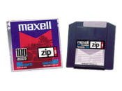 Maxell Zip Disk, 100MB, Mac Formatted, Pack Of 5
