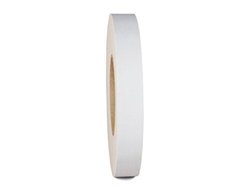 T.R.U. CGT-80 White Gaffers Stage Tape with Rubber Adhesive, 1 in. wide x 60 Yards length, 12MIL Thickness (Pack of 1)