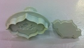 NY CAKE Rose Embossing Cutter Small
