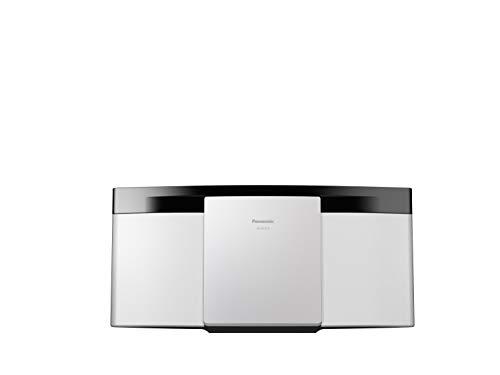 Panasonic SC-HC212EG 2-kanaals Micro Hi-Fi System 20W digitale radio DAB+ CD-speler Bluetooth USB Wit