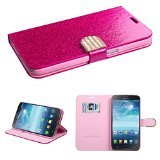 MyBat Samsung i527 MyJacket with Diamante Belt and Package - Retail Packaging - Hot Pink