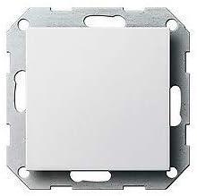 Reinwei/ß gl/änzend 021303 Rahmen 3-fach, 1 St/ück GIRA System 55 Standard E2 Steckdose Schalter Rahmen Wippe