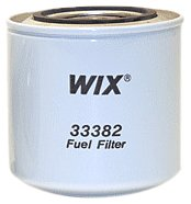 WIX Filters - 33382 Heavy Duty Spin-On Fuel Filter, Pack of 1 ()
