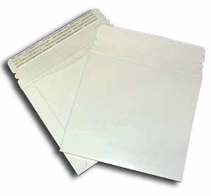 Large White Cardboard CD Mailer  6