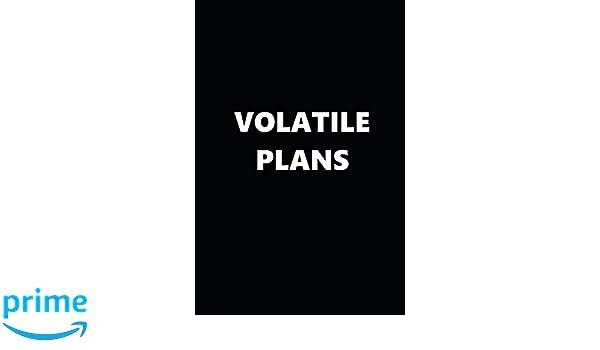 2019 Daily Planner Funny Temper Volatile Plans Black White ...