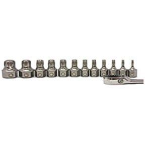 (E-Z Red T1000 12 Piece Torx Bit Set,T10-T60, For Automotive Repairs, Cars, Trucks,)