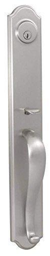 Weslock 06641-N--002D Philbrook Exterior Entry Handle, Satin Nickel